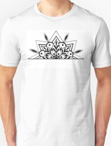 Semi Mandala Unisex T-Shirt