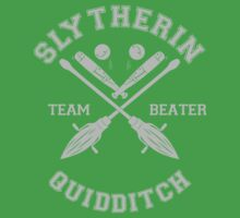 Slytherin - Team Beater Kids Clothes
