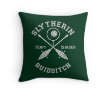 Slytherin - Team Chaser Throw Pillow