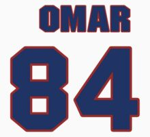 National football player 'Omar Ellison jersey 84 by imsport