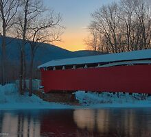 Red Bridge by Mike Griffiths