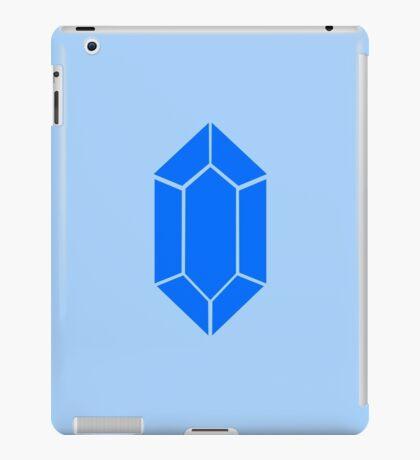 Blue Zelda Rupee iPad Case/Skin
