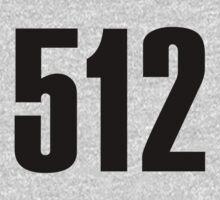 512 South Texas | Phone Area Code Shirts by FreshThreadShop