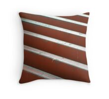 cattle grid Throw Pillow