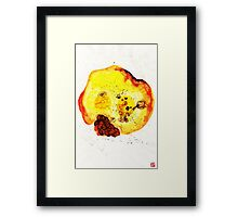 My name is Hiu__Wu Framed Print