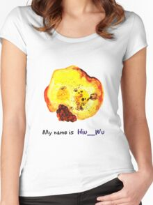 My name is Hiu__Wu Women's Fitted Scoop T-Shirt
