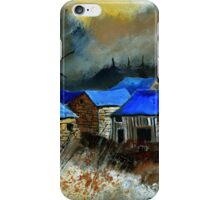 Remote houses iPhone Case/Skin