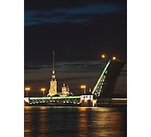 Evening Saint-Petersburg Photographic Print