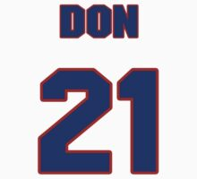National football player Don Wilson jersey 21 by imsport