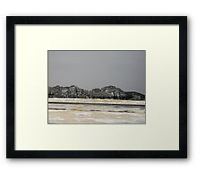 rocking Framed Print