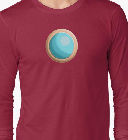 Princess Peach Broach Long Sleeve T-Shirt