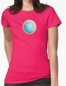 Princess Peach Broach Womens Fitted T-Shirt