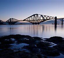 Forth Bridge Dawn by David Queenan