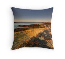 Looking Towards Linekin Bay Throw Pillow