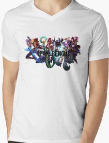 League of Bengui Mens V-Neck T-Shirt
