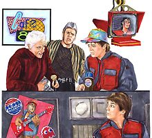 Hey McFly!?! Back to the Future II by Jesse Rubenfeld