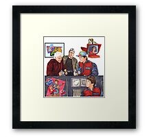 Hey McFly!?! Back to the Future II Framed Print