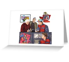 Hey McFly!?! Back to the Future II Greeting Card