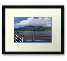 Anatom Island in the Summer Framed Print