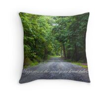 Happiness... Throw Pillow