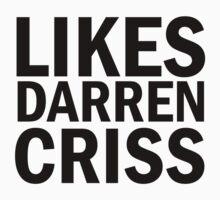 Likes Darren Criss by DareBearEfron