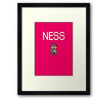 Ness Framed Print