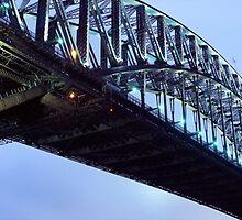 Sydney Harbour Bridge by Matt  Lauder