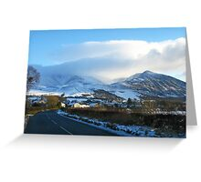 Lake District National Park #3 Greeting Card