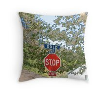 step on it Throw Pillow