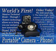 World First! Photographic Print