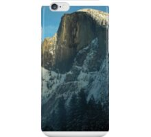 Half-Dome in Yosemite, Taken from Curry Village Ice Skating Rink iPhone Case/Skin