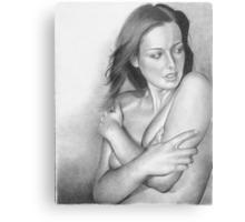 Study of a Woman I Metal Print