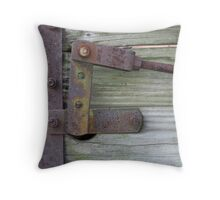 RUSTY LEVER Throw Pillow