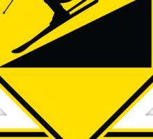 Use Low Gnar - Skier Sticker