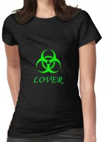 Toxic Lover Womens Fitted T-Shirt
