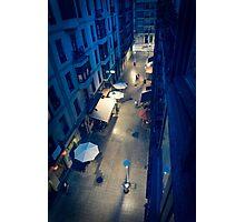 Bilbao Street Scene Photographic Print