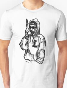 Old School Mobile Cell with a Thug Unisex T-Shirt