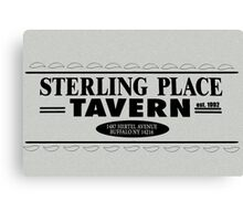 Sterling Place Tavern Canvas Print