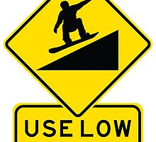 Use Low Gnar - Snowboarder by Bnizzle