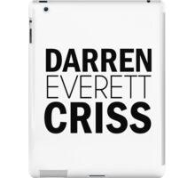 Darren Everett Criss iPad Case/Skin