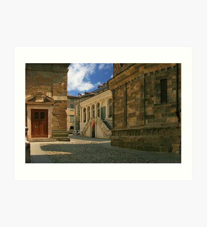 Quiet back street Art Print