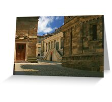 Quiet back street Greeting Card