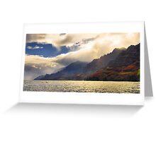 Na Pali Coast Greeting Card