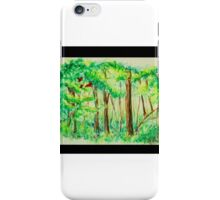 Emerald Forests iPhone Case/Skin