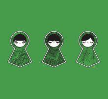 Three Matryoshka Babushka Dolls Kids Tee
