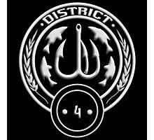 District 4 - Fishing Photographic Print