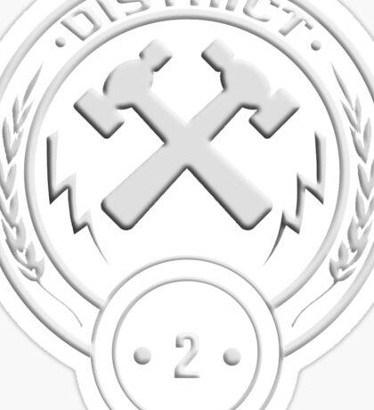District 2 - Masonry Sticker