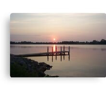 Michigan Sunset Canvas Print