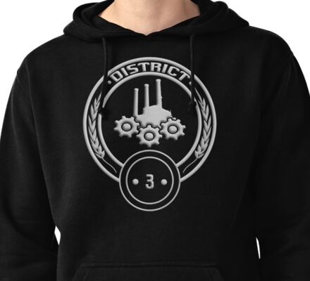 District 3 - Technology Pullover Hoodie