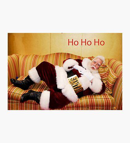 Ho Ho Ho Photographic Print